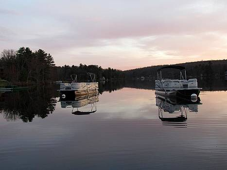 Boating Reflected by Dianne Furphy