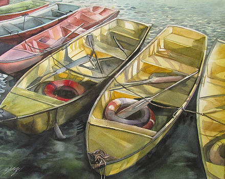Alfred Ng - boats at baihai park