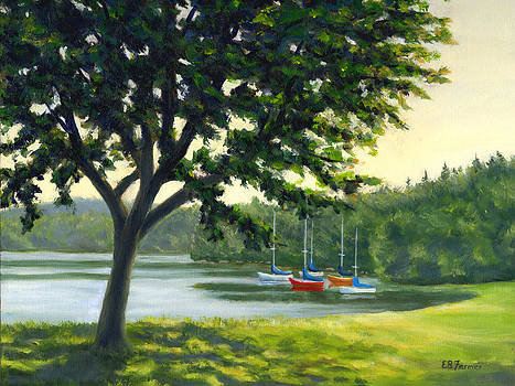 Boats at Rest by Elaine Farmer