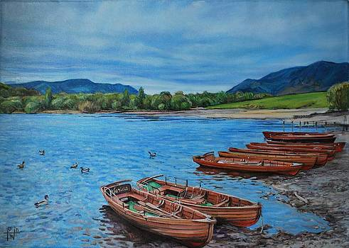 Boats for Hire by Henry David Potwin