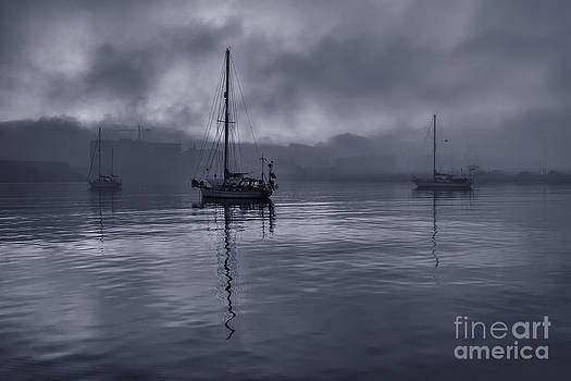 English Landscapes - Boats In The Fog