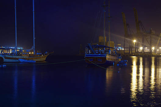 Boats vs Cranes by Nagi Shubo