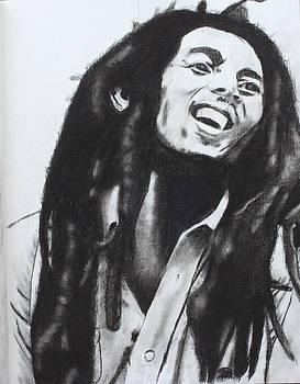 Bob Marley by Aaron Balderas
