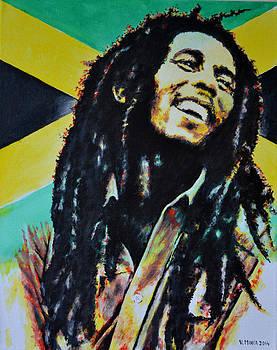 Bob Marley by Victor Minca