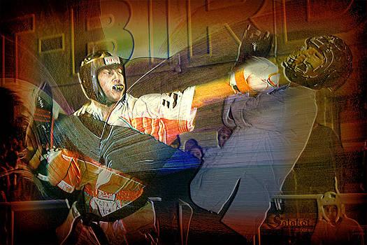 Bobby Seronio III Action Portrait by Salakot