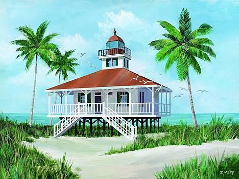 Boca Grand Lighthouse by Robert McCoy