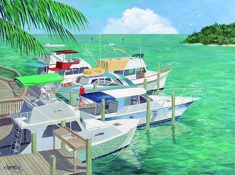 Boca Grand Marina by Robert McCoy