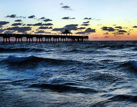 Boca Sunrise by David Yunker