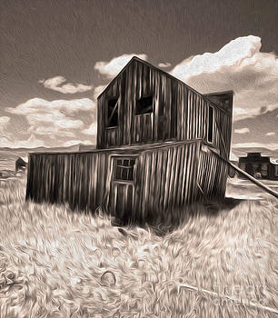 Gregory Dyer - Bodie Ghost Town - Bent House 03