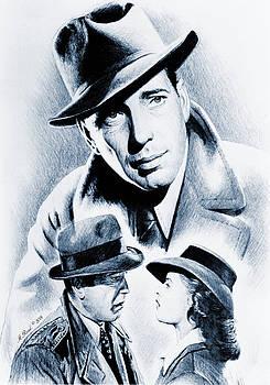 Bogart silver screen by Andrew Read