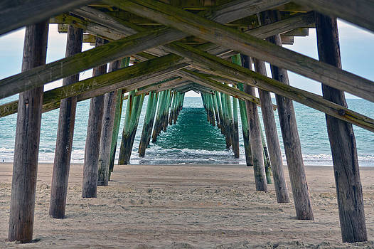 Bogue Banks Fishing Pier by Sandi OReilly