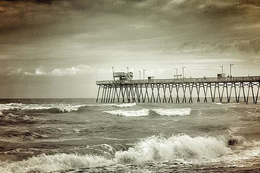 Bogue Pier by Julie Strickland