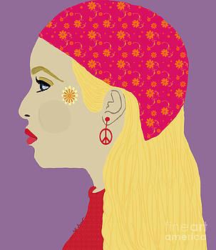 Kate Farrant - Bohemian Hippie Woman