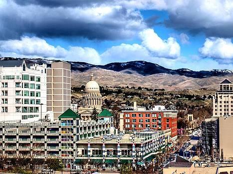 Boise Clouds by Greg Bush