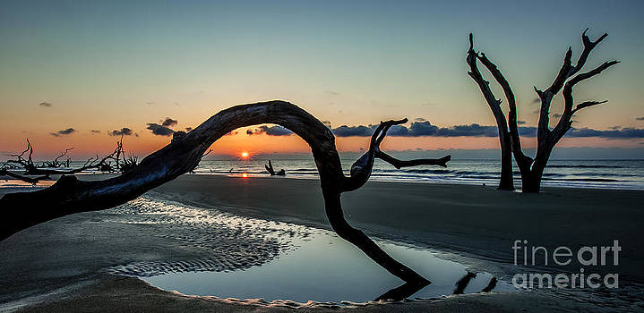 Boneyard Beach Sunrise by Vicki Kohler