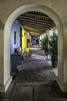Lynn Palmer - Bonnet House Courtyard Colonnade