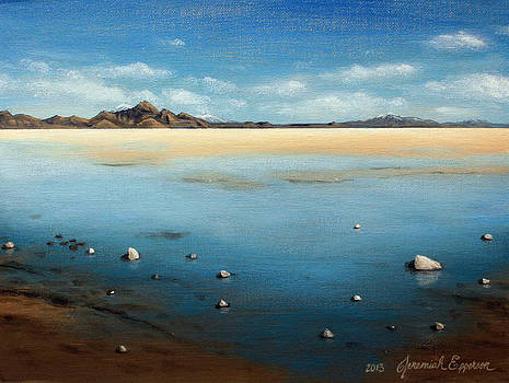 Bonneville Salt Flats by Jeremiah Epperson