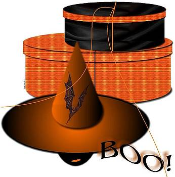 Boo Hat Box - Contact Artist to License Image by Yoli Fae