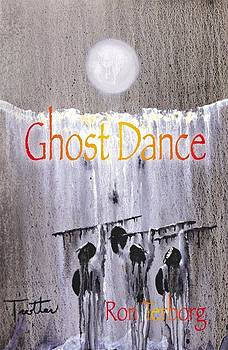 Book Cover Ghost Dance by Ron Terborg  My Painting by Patrick Trotter