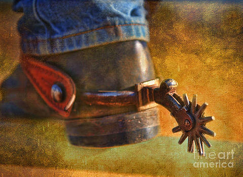 Boot And Spur by Alan Crosthwaite