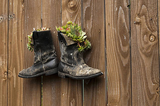 Boots on the Wall by Chad Davis