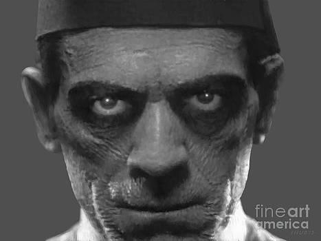 Boris Karloff as The Mummy by Stephen Shub