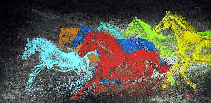 Teshia Art - Born To Be Wild