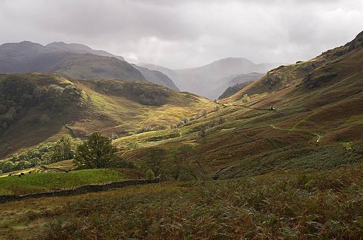 Borrowdale towards Great Gable by Pete Hemington