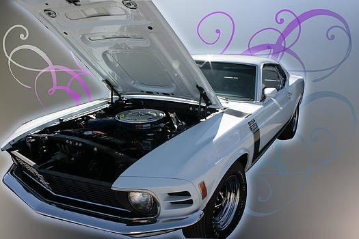 Regina  Williams  - Boss 302 Mustang