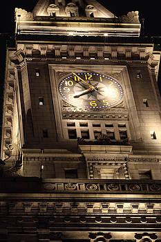 Boston Commons Clock by David Yunker