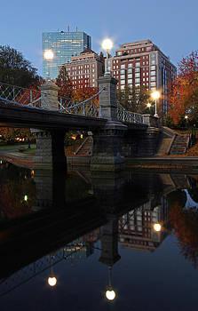Juergen Roth - Boston Public Garden Lagoon Bridge