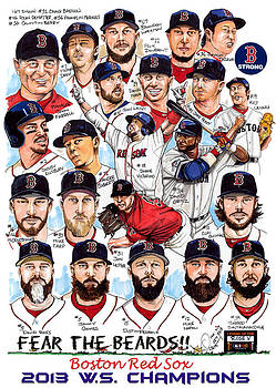 Boston Red Sox WS Champions by Dave Olsen