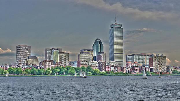 Boston Skyline HDR by Joseph Desmond