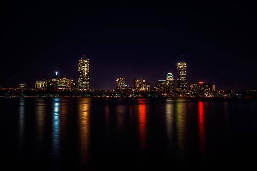 Boston Skyline by Robert Mirabelle