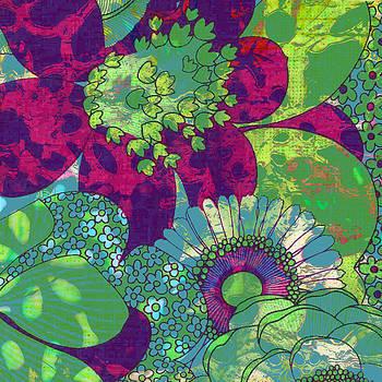 Ricki Mountain - Botanical Art Oopsy Daisy I