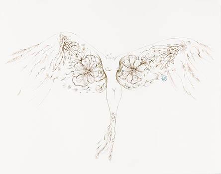 Botanicalia Robin by Karen Robey