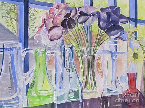 Bottles and Vases by Carol Flagg