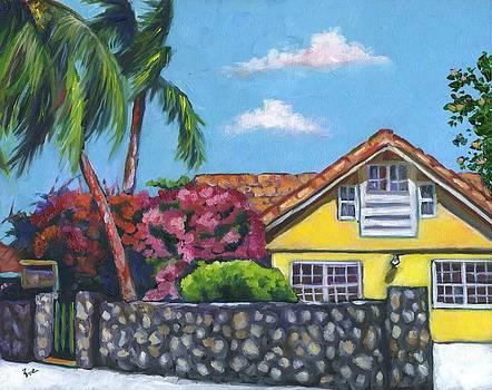 Bougainvillea Bungalow by Eve  Wheeler