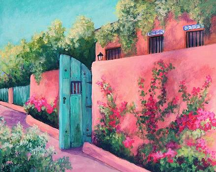 Bougainvillea Wall by Candy Mayer