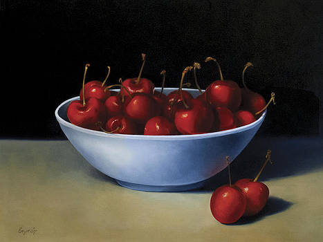 Bowl of Cherries by Anthony Enyedy