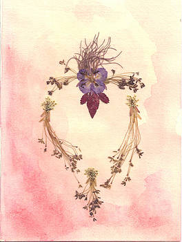 Box Elder Heart II by Karen Nelson