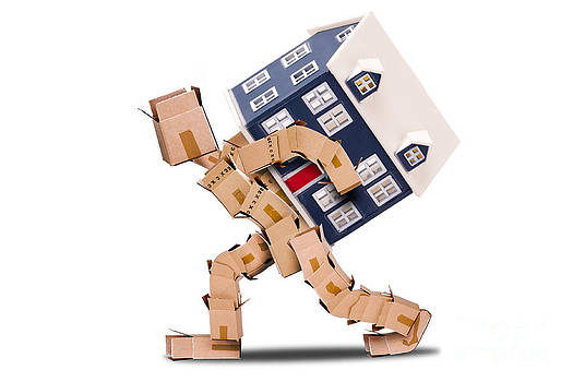 Box man moving house by Simon Bratt Photography LRPS