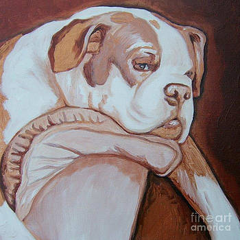Boxer's Day Off by Holly Picano