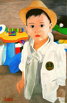 Boy Portrait by John Davis