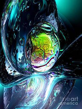 Alexander Butler - Brain Scan Abstract
