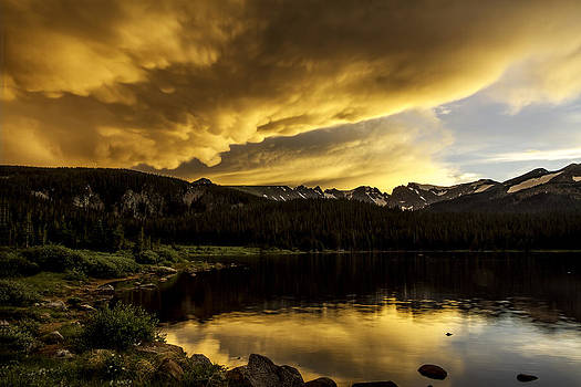 Brainard Lake Sunset by Kristal Kraft