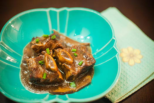 Braised Beef Ginger Shortribs by Kid's Play