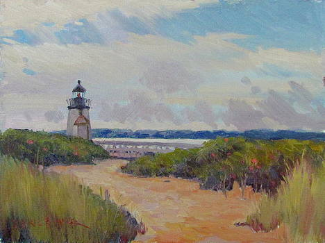 Brant Point Lighthouse by Dianne Panarelli Miller
