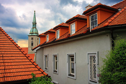 Alex Sukonkin - Bratislava roofs