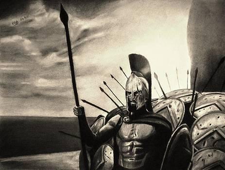 Brave Loyal Defender - Sepia by Vishvesh Tadsare